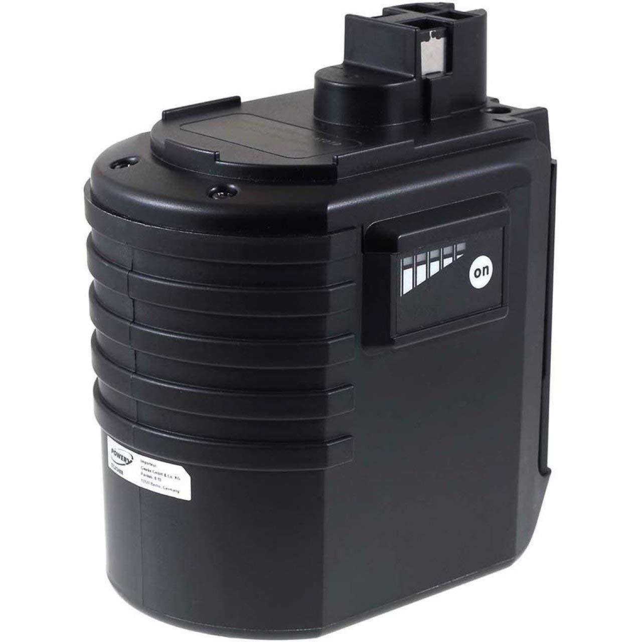 POWERY® Batteria per Bosch Modello BAT021 NiMH Piatta