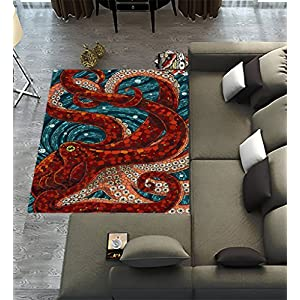 61yoMN7gWgL._SS300_ 50+ Octopus Rugs and Octopus Area Rugs