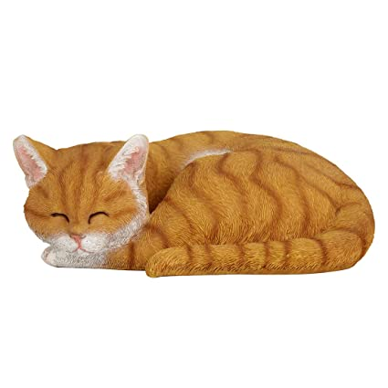 Wonderland Sleeping Cat Garden or Home Decor (Animal Statue, Balcony, Gift)