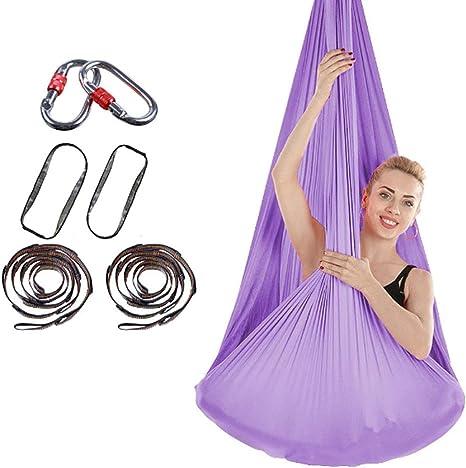 TOYS Aerial Hamaca De Yoga, Silk Yoga Swing para Ejercicio ...