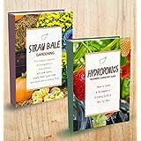 Herbs - 2 Manuscripts - Straw Bale Gardening, Hydroponics Beginners Gardening Guide
