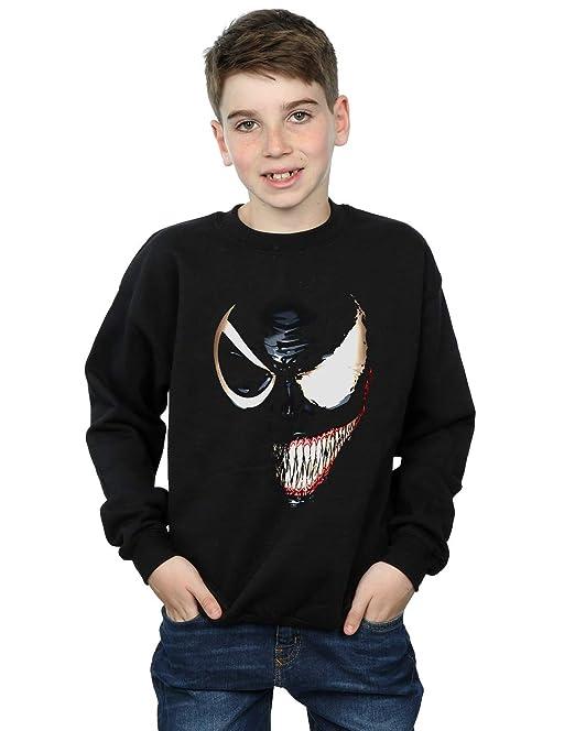 035e70c424 Marvel Universe Niños Venom Split Face Camisa De Entrenamiento  Amazon.es   Ropa y accesorios