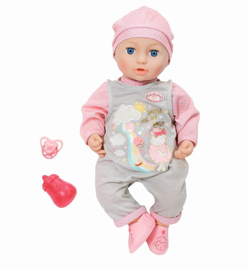 Zapf Creation 700655 Baby Annabell Mia so Soft, bunt Zapf Creation AG