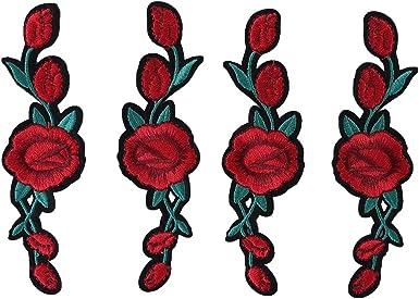 vans fleur rouge