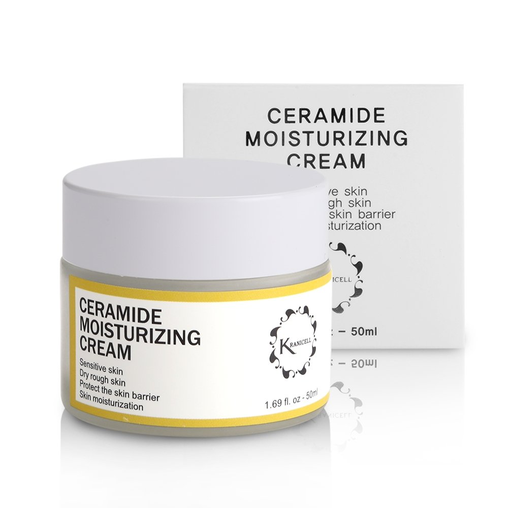 Ceramide Moisturizer Cream 1.69 Ounce for Hydrating, Moisturizing, Korean Skin Care Natural Organic Ceramides Moisturizing Cream for Sensitive and Dry Skin
