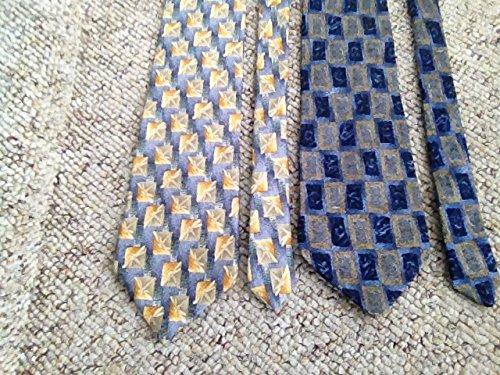 Christopher Reeve Collection 2 silk Necktie tie