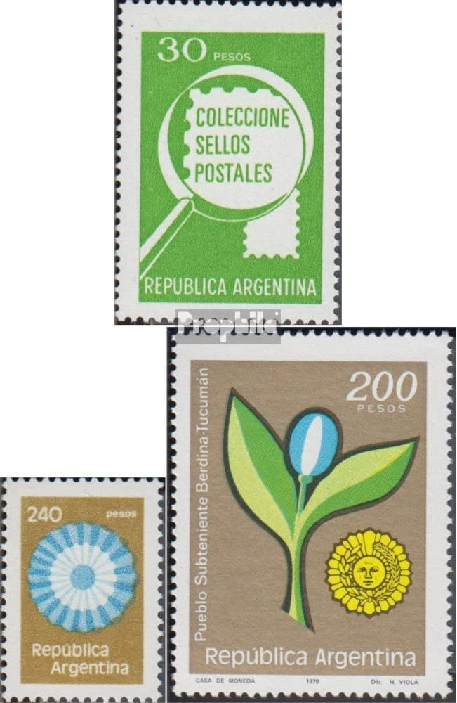 Prophila Collection Argentina Michel.-No..: 1385x,1386,1391 ...