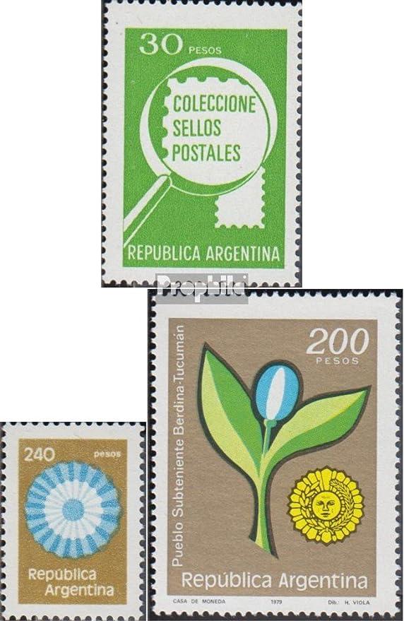 Prophila Collection Argentina Michel.-No..: 1385x,1386,1391 (Completa.edición.) 1979 filatelia, Kokarde, Flor (Sellos para los coleccionistas): Amazon.es: Juguetes y juegos