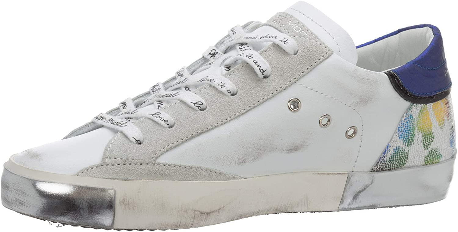 Blanc Philippe Model sneakers donna prsx A10IPRLDVMA1 bianco Metal animalier