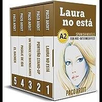 Spanish Novels: Pre Intermediate's Bundle A2 - Five Spanish Short Stories for Pre Intermediates in a Single Book (Learn…