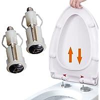 Abattant WC Charnières Vis de fixation du Couvercle WC trou de fixation facile d'installation Lot de 2
