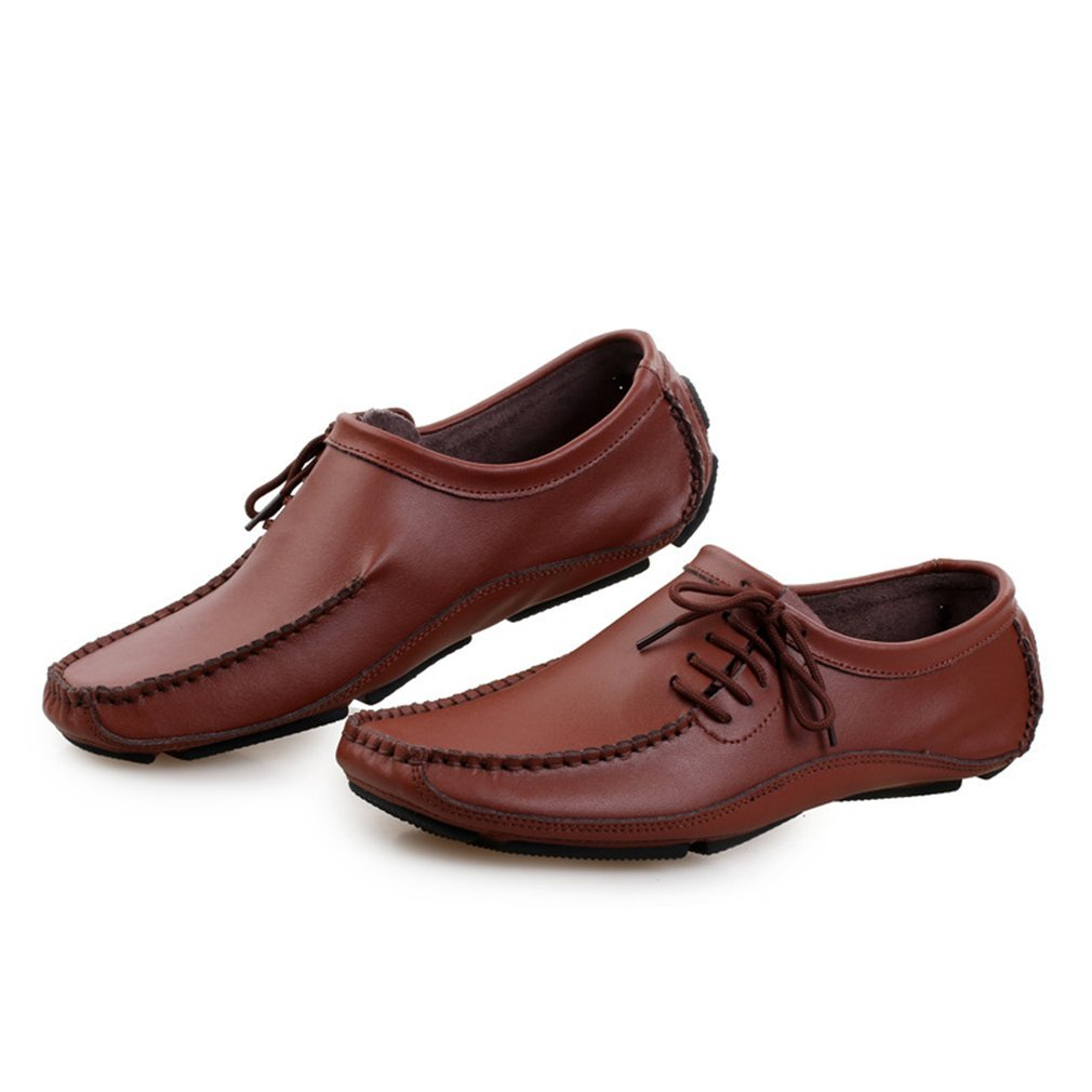 Herrenschuhe Slip On Driving Schuhe 2018 Neue Mode Frühjahr & Herbst Fahren Schuhe Flache Leder Mokassins Schuhe Casual Loafers (YAN),B,38