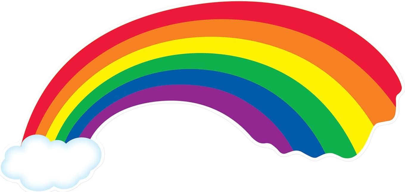Amazon.com: Rainbow Cutout Party Accessory (1 count): Kitchen & Dining