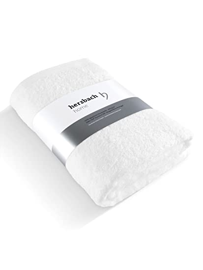 herzbach home Toalla de ducha de lujo, calidad premium, algodón egipcio 100