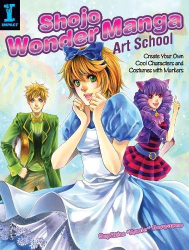[Shojo Wonder Manga Art School: Create Your Own Cool Characters and Costumes with Markers] (Full Bobby Light Costume)