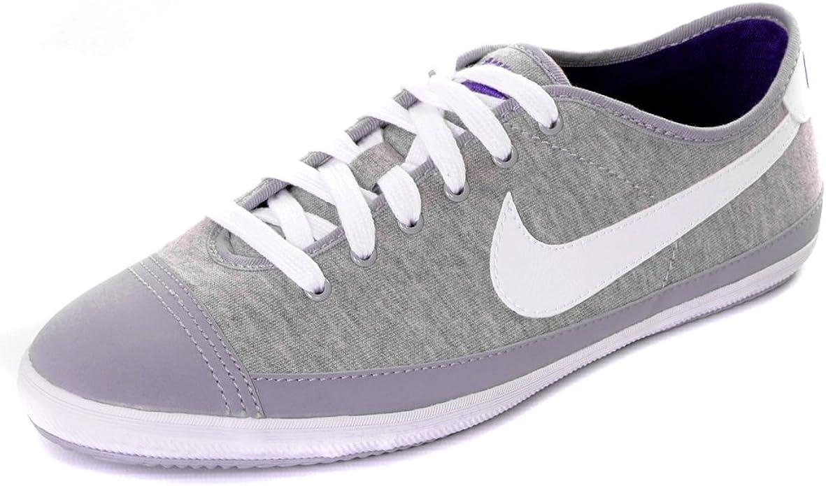 retroceder Cien años pedestal  Nike Flash Canvas Pumps Trainers - Grey/Purple UK6.5: Amazon.co.uk: Shoes &  Bags