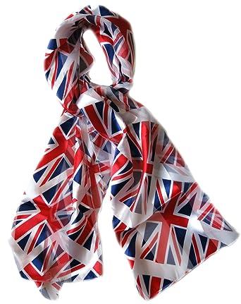 7620e4d6f26 Drapeau anglais Angleterre Uk Londres echarpe foulard 150x31cm ...