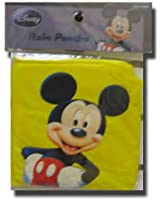 Disney Mickey Mouse Standing Yellow Adult Poncho