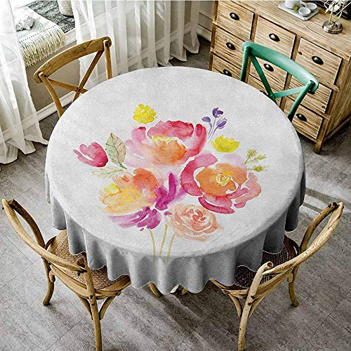 - Round Tablecloth Summer 35