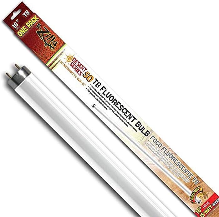 Zilla UVB Fluorescent Bulb 18 inch