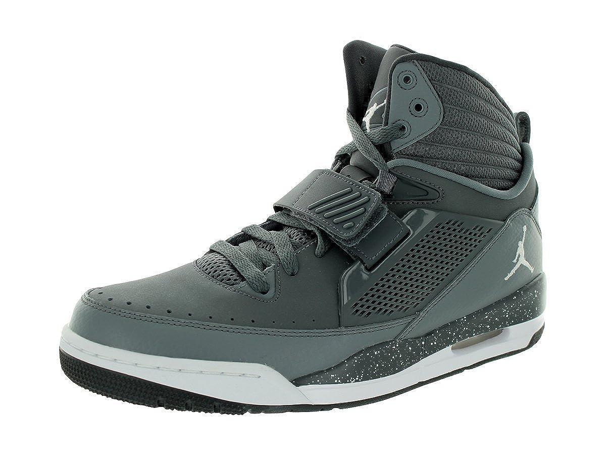 51609d5a06f02 Amazon.com | Jordan Nike Men's Flight 97 Dark Grey/White/Cool Grey Basketball  Shoe 8.5 Men US | Fashion Sneakers
