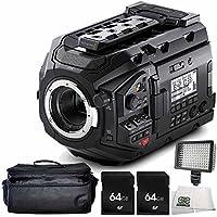 Blackmagic Design URSA Mini Pro 4.6K Digital Cinema Camera 5PC Accessory Bundle – Includes 2x 64GB SD Memory Card + Deluxe Carrying Case + MORE