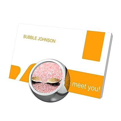 Amazon eye pink gold glitter business card holders for desk eye pink gold glitter business card holders for desk business card stand colourmoves