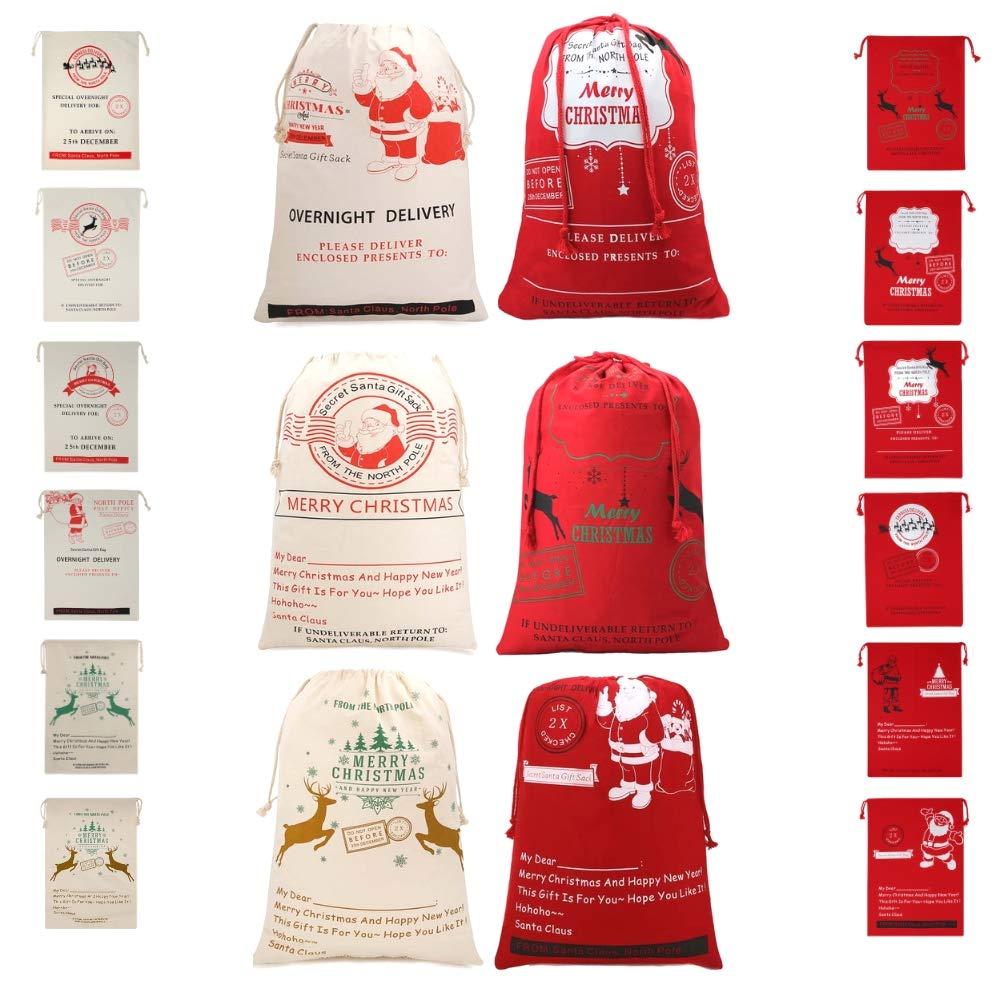 送料無料 BONISON Xmas Holidayテーマバッグ/バスケット/バケットforハロウィン BONISON Xmas、クリスマス、イースターwithカートゥーンデザイン、CarryingキャンディギフトPresent forパーティー、Trick or Treat B01MXJLYZV Xmas bag6pcs Xmas bag6pcs, クレシ:e3d41385 --- 4x4.lt