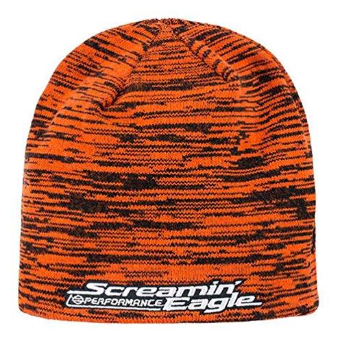 Harley-Davidson Men's Screamin' Eagle Reversible Space Dye Knit Cap HARLMH0298