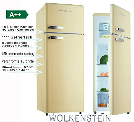 Wolkenstein GK212.4 RT, nevera, color crema: Amazon.es: Grandes ...