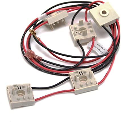Frigidaire 316219025 Range Igniter Switch and Harness Assembly for