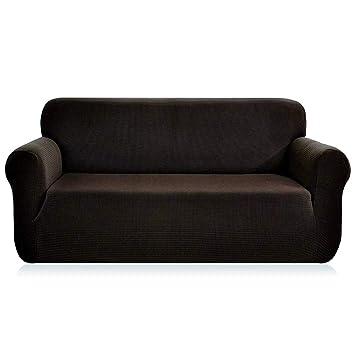 Rayzon Sofa Cover Modern Furniture Sofa Slipcover High Stretch Soft  Jacquard Fabric 57\