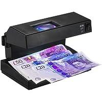 Aibecy - Comprobador de billetes falsos de escritorio, con lupa y probador de billetes falsos, para uso en Estados…