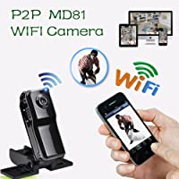 GoldFox® MD81S WiFi Mini Spycam Spy Caméra Mini DV Sport Caméra Vidéo Numérique