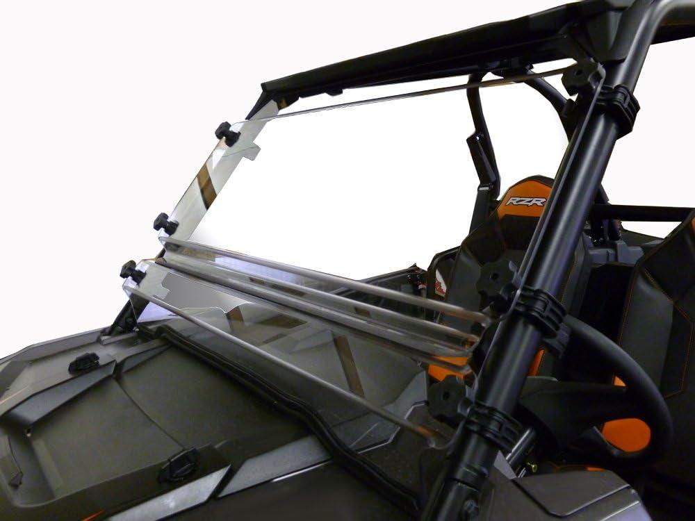 """RZR 900 1//4/"""" POLYCARBONATE CLEAR RZR HALF WINDSHIELD 2015-18  POLARIS RAZOR"""
