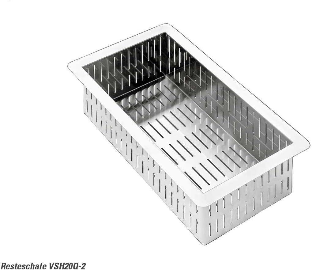 Smeg VSH20Q Acero inoxidable coladores: Amazon.es: Electrónica