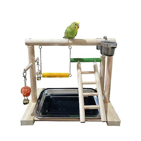 Pájaro del Patio Escaleras Loro oscilación del Soporte deformable ...