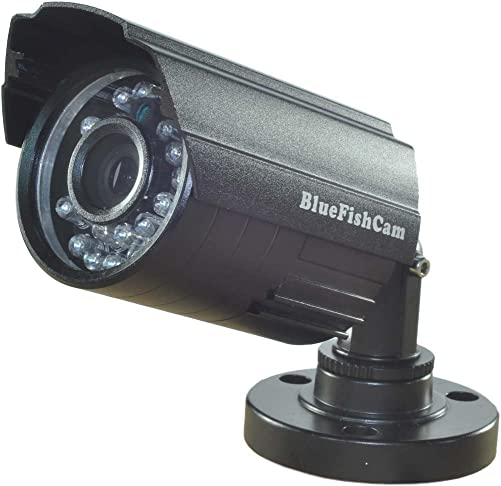 BlueFishCam Lens 3.6mm CMOS 1000TVL Camera CCTV Camera Surveillance Analog Waterproof Security System