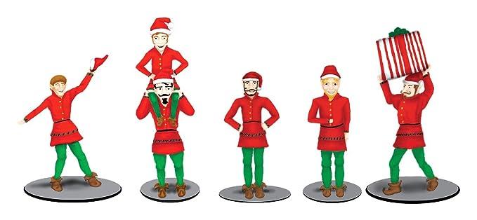 amazon com lionel the polar express elves figure pack train toys