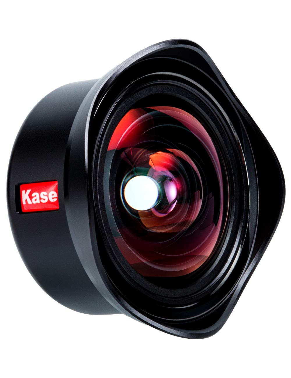 Kase 12mm Ultra-Wide Aspherical Lens 122°Professional HD Camera Lens Compatible with iPhone Samsung Android Most Smartphones and Tablets by kase
