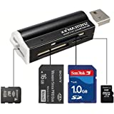 MECO -lettore di schede memoria USB 2.0, micro SD, MMC, SDHC, TF