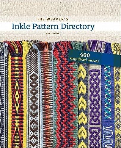 Book Weaver's Inkle Patten Directory: 400 Warp-Faced Weaves