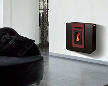 Estufa de cristales para stovia - Galli 5,5 kW impermeable con o sin Option WiFi - Color blanco, sin Wifi, con pie: Amazon.es: Bricolaje y herramientas