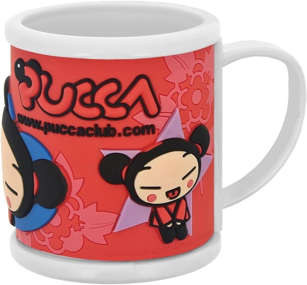 Promobo Mug Tasse A Caf/é Chocolat Enfant Licence Pucca 3D Rouge
