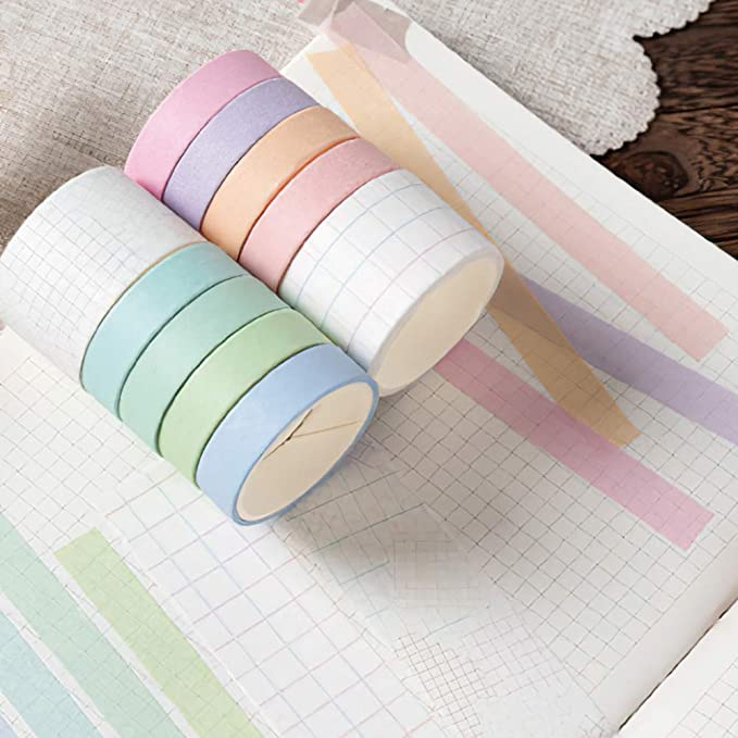 LARGE BIRTHDAY POLKA Dots Washi Tape Perfect For Celebration Scrapbooking and Memory Keeping Art Travel Junk Bullet Journal Notebook Crafts