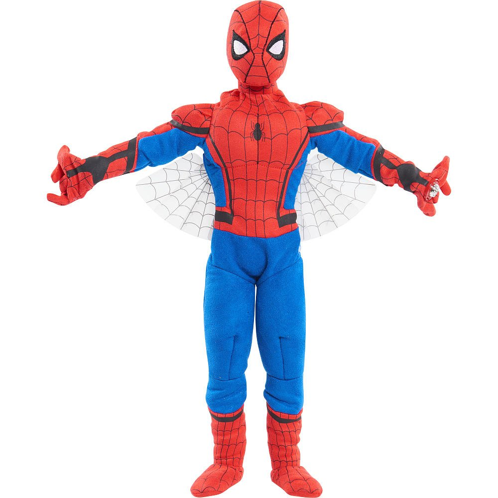 Just Play Marvel Spider Man Homecoming Sling & SOAR Plush by Just Play