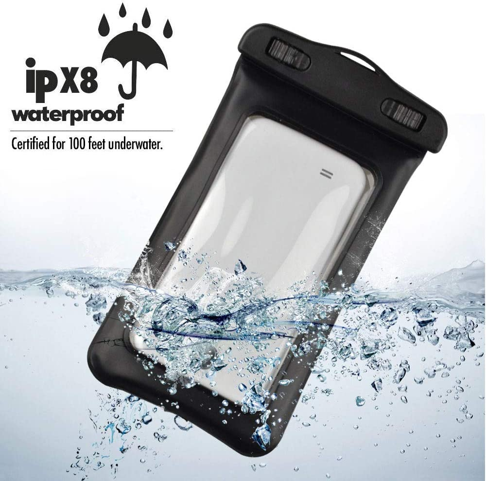 Waterproof Underwater DRY BAG Pouch Case with sensor For Nokia 9 PureView