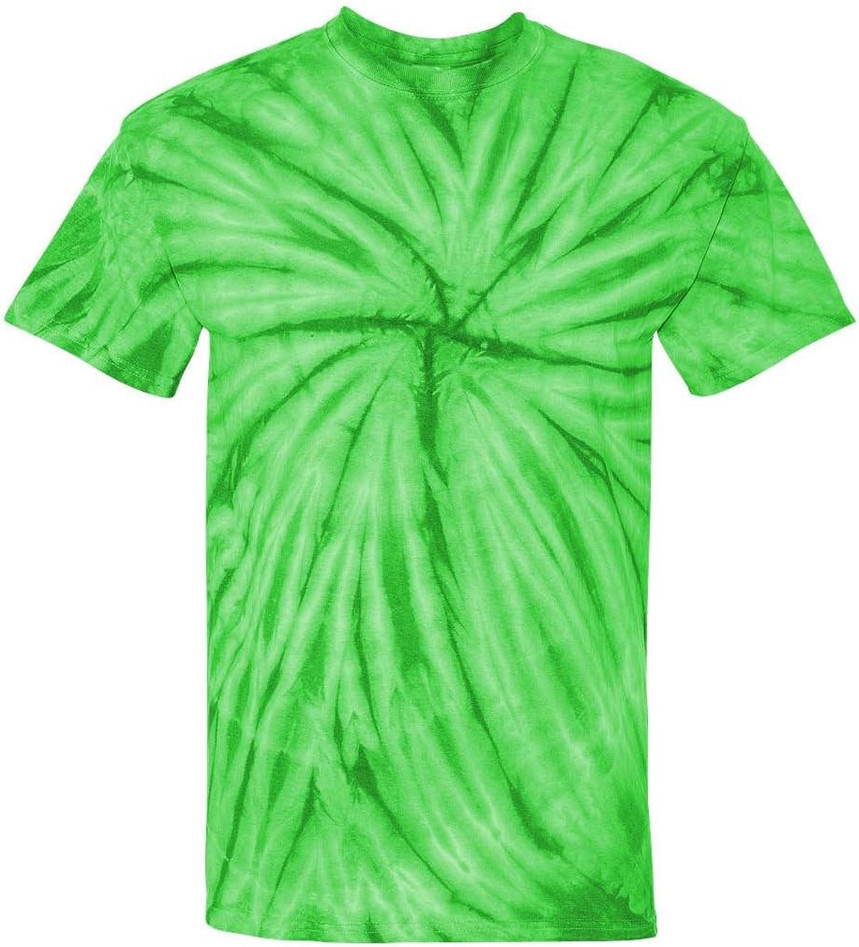 Tie-Dyed Cyclone Pinwheel Short Sleeve T-Shirt 200CY 100/% pre-shrunk cotton SALE