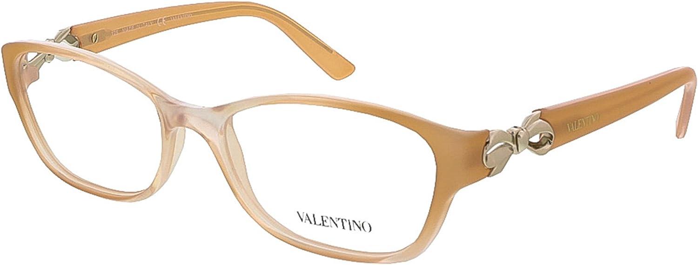 Valentino V2646R Rechteckig Brillengestelle 51 Braun