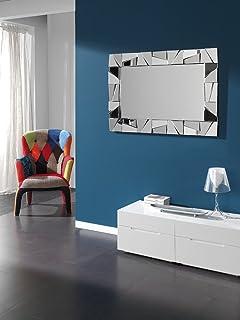 Specchio acrilico decorativo moderno ROCKS 140 x 70 cm, XXL ...